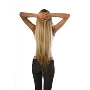 Наращивание славянских волос класса VIP фото