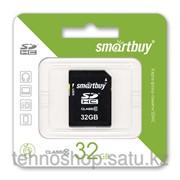 SDHC карта памяти Smartbuy 32GB Class 10