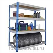 Стеллаж среднегрузовой полочный МКФ до 300 кг фото
