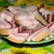 Сало свиное сырое фото