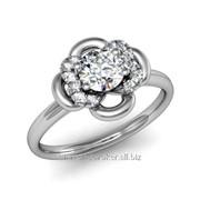 Кольца с бриллиантами D42600-1 фото