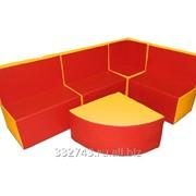 Детская игровая мебель Мягкий уголок, арт. 36 фото
