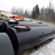 Резервуар 10, 25, 50 м3 для хранения нефтепродуктов на АЗС фото