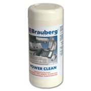 Чистящие салфетки BRAUBERG фото