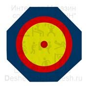 Ковер для борьбы восьмигранный (12х12х0,06м) 589 фото