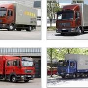 Автомобили грузовые с полной массой от 3,5 тн до 12 тн MAN TGL фото