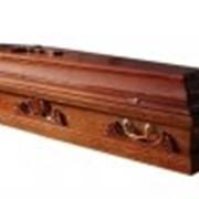 Гроб деревянный 018 фото