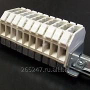 Блок зажимов наборных проходных БЗН18-2,5П25 фото