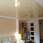 Натяжные потолки глянцевые фото