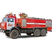 Аэродромный пожарный автомобиль АА-8/60 (шасси КАМАЗ-43118 6х6) фото