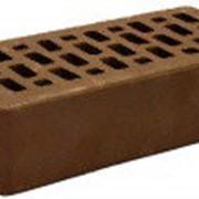 Кирпич облицовочный одинарный какао Terex фото