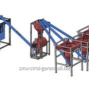 Линия для производства сухих смесей 40 тонн в смену М3-40Т фото