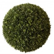 Искусственный шар травяной, d 55 см фото