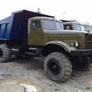 КрАЗ-255 самосвал, различные типы кузовов, шасси с хранения фото