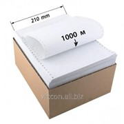 Бумага перфорированная 210мм*1000м HPF210-1000 фото