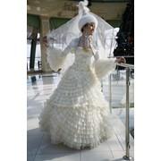 Прокат свадебных казахских платьев на кыз узату той. фото
