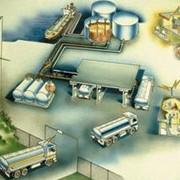 Оборудование для оснащения нефтебаз, системы управления и автоматизации