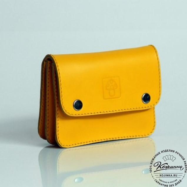 94fdf397b2c8 Кожаный кошелек Сабрина (желтый) в Санкт-Петербурге (Аксессуары из ...
