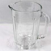 Чаша (кувшин, емкость) стеклянная для блендера Kenwood 1600ml KW716030. Оригинал фото