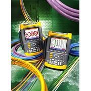 Осциллографы-мультиметры с цветным дисплеем и функцией проверки состояния шин передачи данных Fluke 225C фото