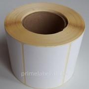 Термоэтикетки 58х40, 700 этикеток в роле фото