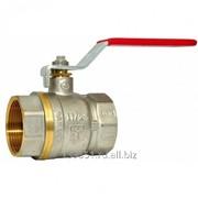 Кран шаровый проходной 104.0 DN100 Р/С, Без ручки, AISI316L, 03X17H14M2, Inoxpa, DIN фото