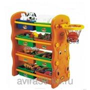 Система для хранения детских игрушек фото