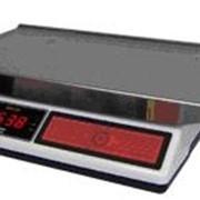 Весы электронные. Весы фасовочные с аккумулятором для автономного или аварийного питания ВР-05МС-БР-А. фото