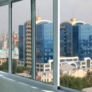 Алюминиевые окна фото