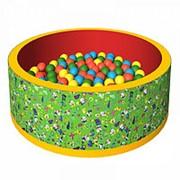 Сухой бассейн с шариками «Веселая полянка» ДМФ-МК-02.51.01 фото