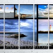 Модульна картина на полотні Австралія. Морські пейзажі код КМ100150(150)-064 фото