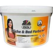 Краска водно-дисперсионная Dufa Kuche & Bad Farbe база 1 10л фото