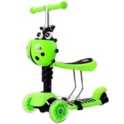 Самокат Scooter Mini (Божья-коровка), зеленый фото