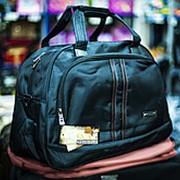 Дорожная сумка Happypeople большого размера 50х24х33см черная фото