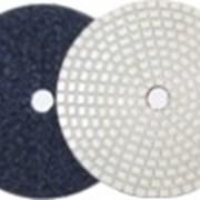 Гибкий диск KS белый толщ. 2,5 мм, диам. 100мм, #100 фото