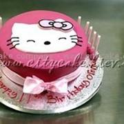Торт детский Hello Kitty №0074 код товара: 2-6-0074 фото