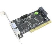Контроллер STLab A-214 (RTL) PCI, SATA 150, 2port-ext, 4port-int фото