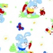 Ткань постельная Фланель 170 гр/м2 75 см Набивная/Детская 5037-1 цветной/S833 PTS фото