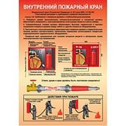 Плакат Внутренний пожарный кран фото