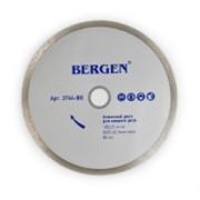 Диск алмазный Bergen мокрый рез 180х25,4мм фото