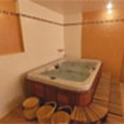 Русская баня в гостинице фото