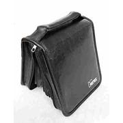 Сумка-портмоне Mirex кож/зам, 50 CD, чёрный фото