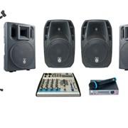 Комплект звукового оборудования 2 кВт ( Аренда) фото