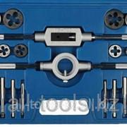 Набор металлорежущего инструмента Зубр Мастер, метчики однопроходные и плашки М5-М16 Код: 28123-H27 фото