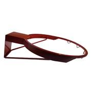 Кольцо баскетбольное No-7 d-450мм антивандальное, пруток 16мм, 10 крючков, без сетки фото