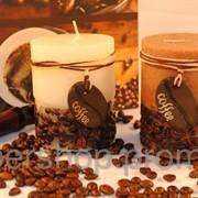 Ароматизированная свеча - цилиндр Кофе 118-108828 фото
