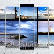 Модульна картина на полотні Австралія. Морські пейзажі код КМ100150(132)-064 фото