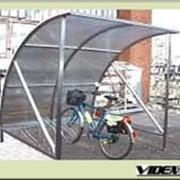 Велопарковка массовая Парус с навесом на 5 мест VP-14-5 фото