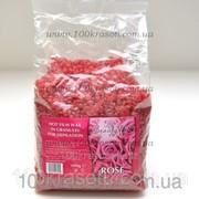 Горячий пленочный воск для депиляции в гранулах - роза фото