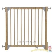 Ворота безопасности Hauck Extending wood pressure fix barier natural фото
